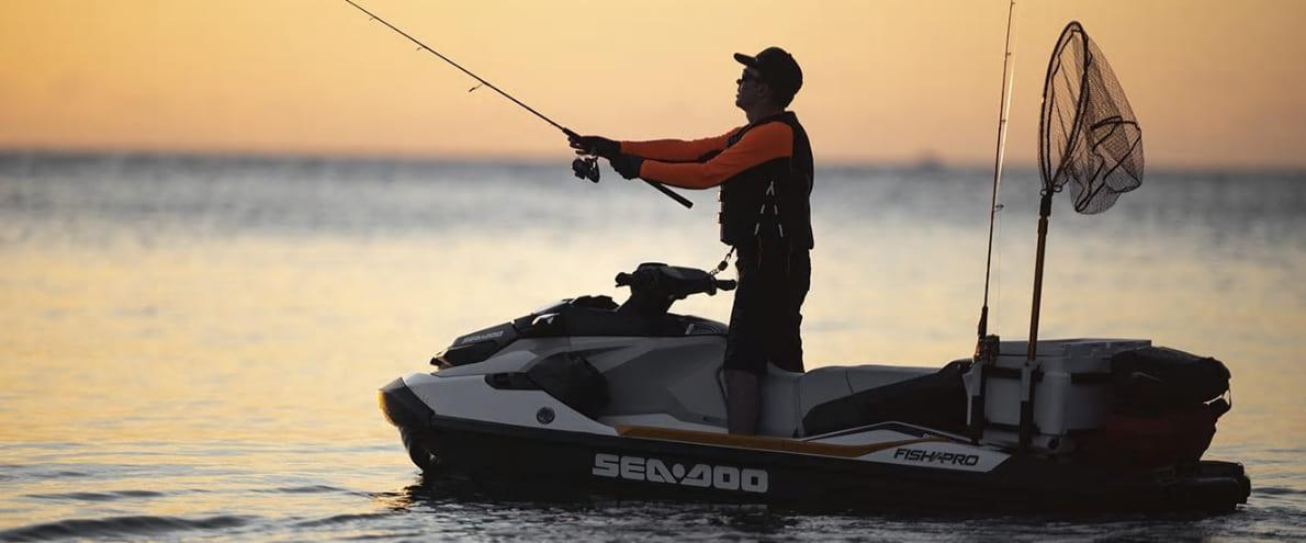 Гидроцикл GTX 155 FISH PRO iBR