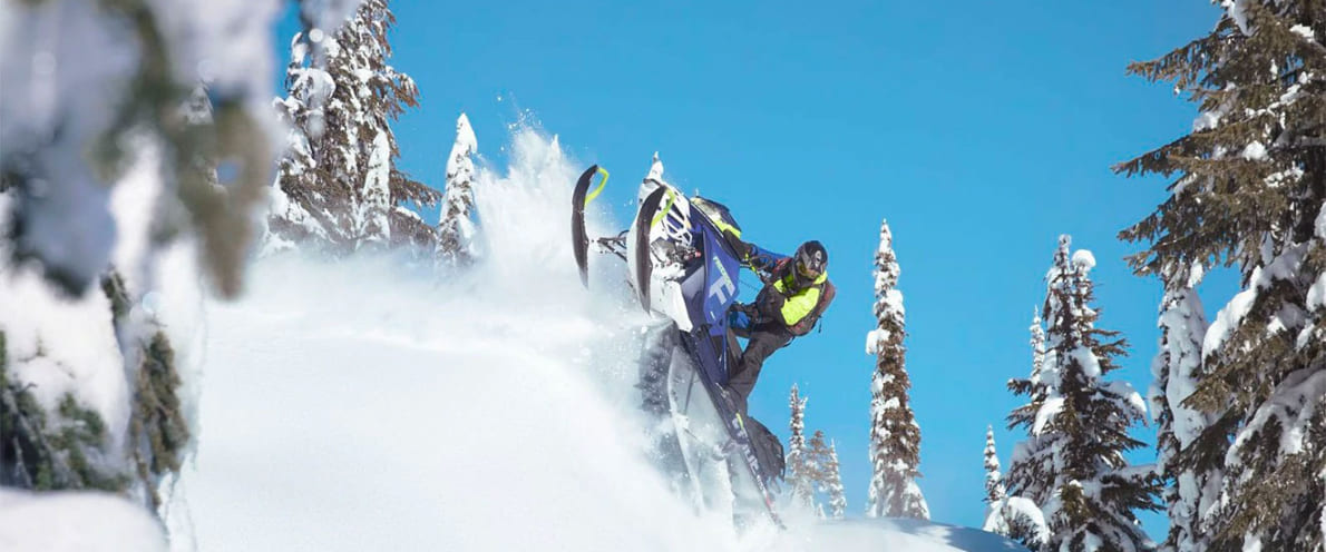Снегоход FREERIDE 154 850 E-TEC