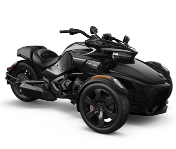 Трицикл  SPYDER F3 (black)