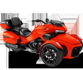 Трицикл SPYDER F3 LIMITED