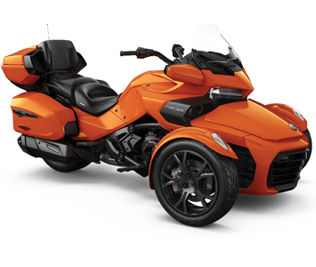 Трицикл SPYDER F3 LIMITED (orange)