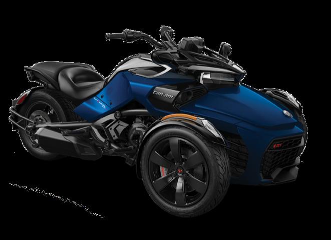 Трицикл SPYDER F3-S (blue)