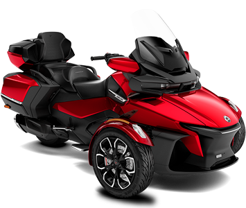 Трицикл SPYDER RT LIMITED (red)