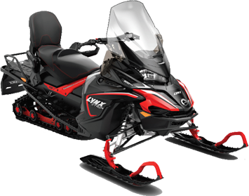 Снегоход Xtrim LX 600 ACE (black)